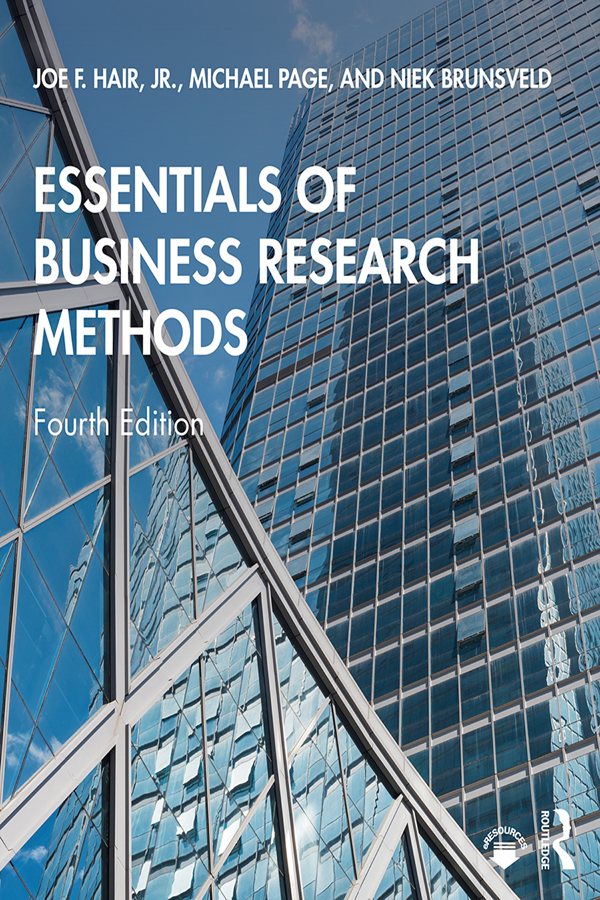 Essentials of Business Research Methods: 4th Edition (Paperback) book cover