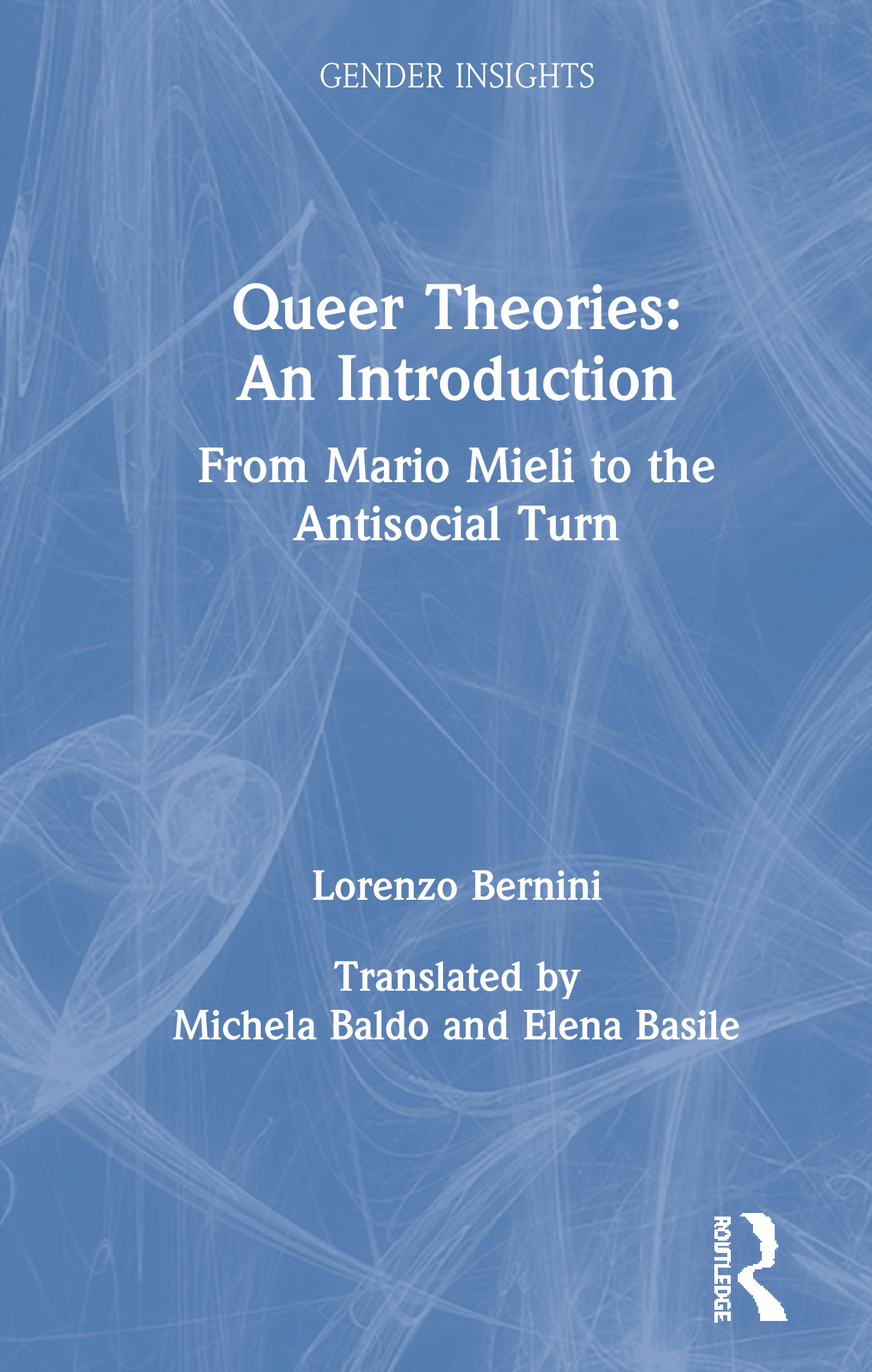 Queer Theories: An Introduction: From Mario Mieli to the Antisocial Turn book cover