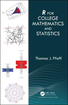 R For College Mathematics and Statistics: 1st Edition (Hardback) book cover
