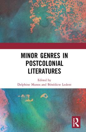 Minor Genres in Postcolonial Literatures book cover