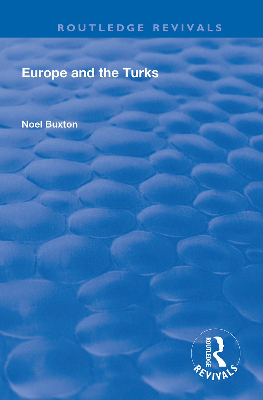 Europe and the Turks: 1st Edition (Hardback) book cover