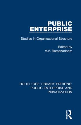 The Organisational Structure of a Public Enterprise: An Analysis