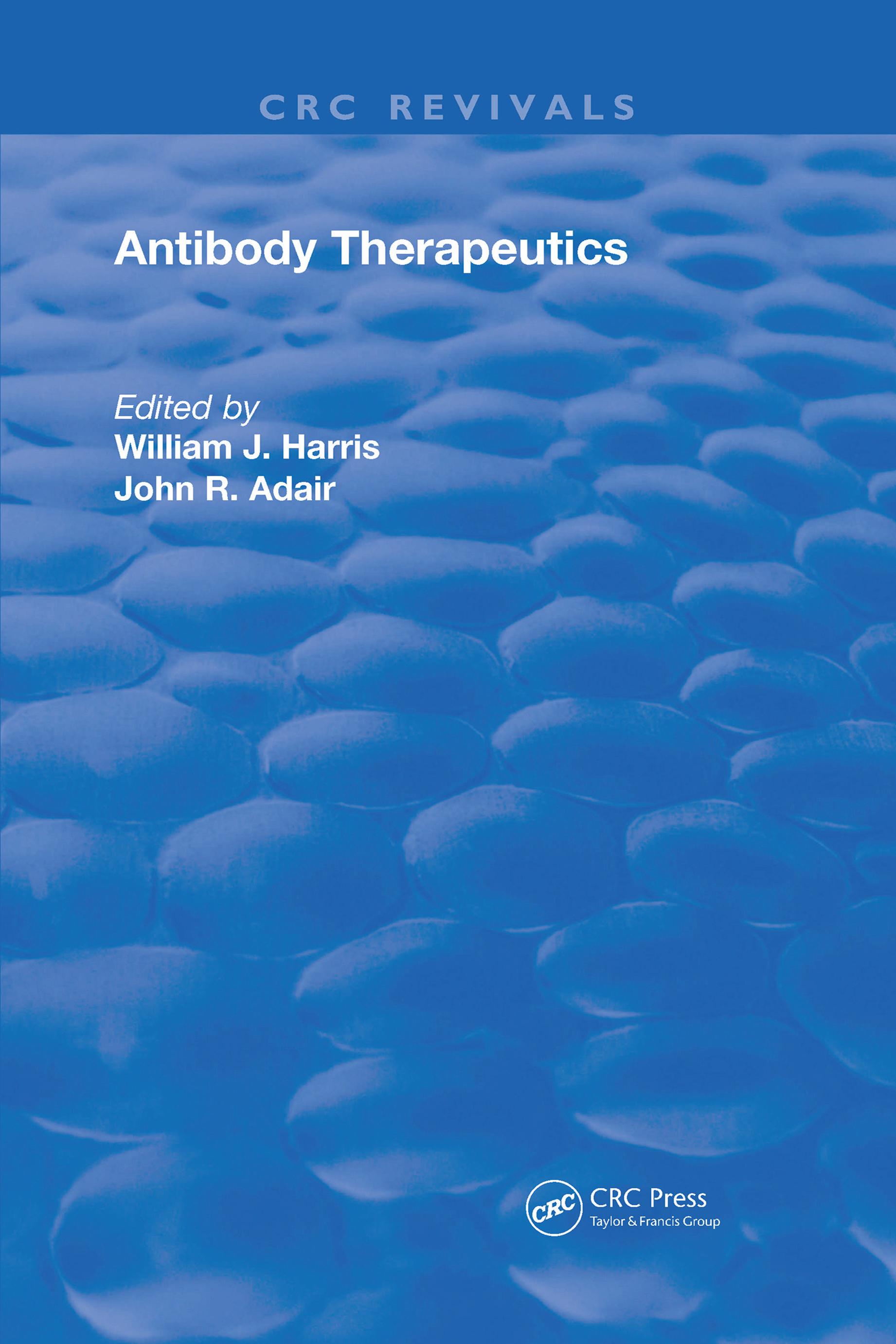 Regulatory Issues for the Development of Antibody Therapeutics