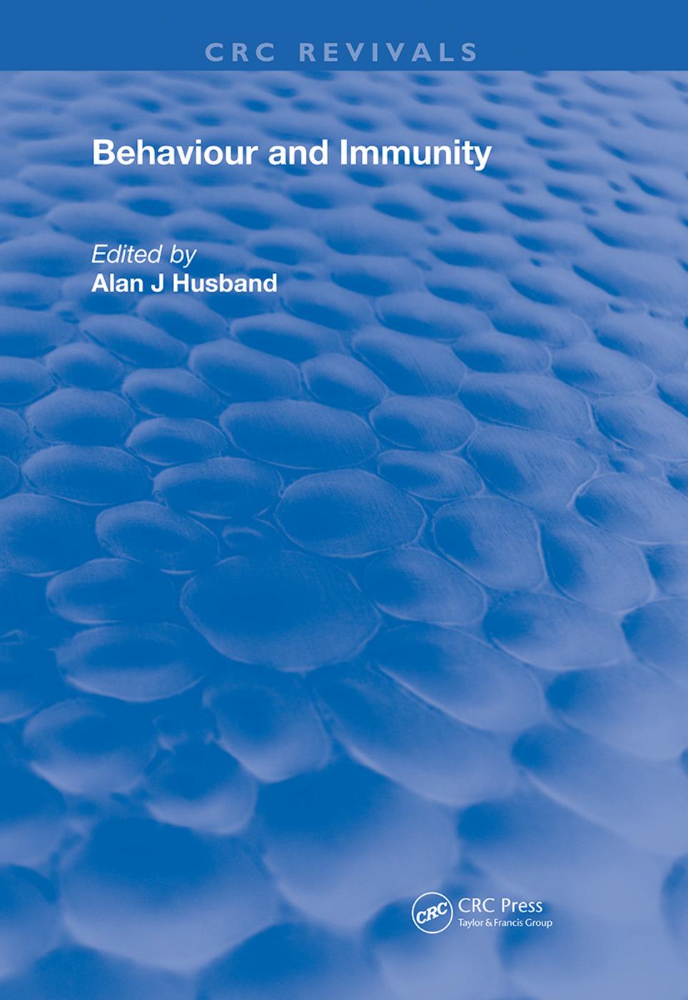 Behavior and Immunity: 1st Edition (Hardback) book cover