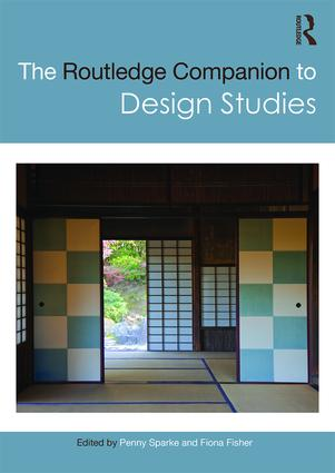 The Routledge Companion to Design Studies book cover