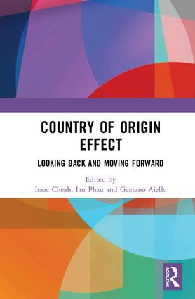 Country of Origin Effect: Looking Back and Moving Forward, 1st Edition (Hardback) book cover