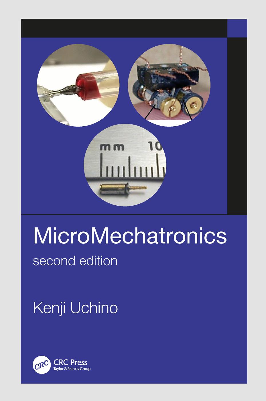 MicroMechatronics, Second Edition: 2nd Edition (Hardback) book cover