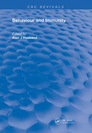 Behavior and Immunity book cover