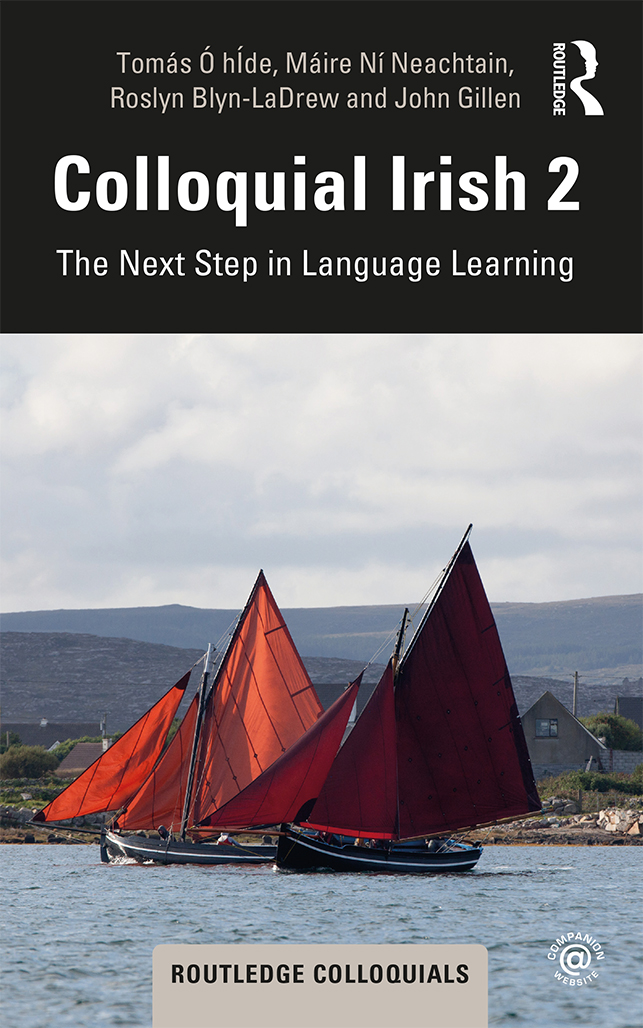 Colloquial Irish 2: The Next Step in Language Learning book cover