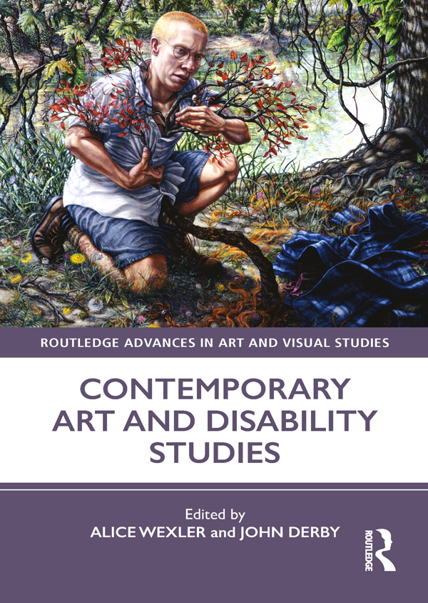 Contemporary Art and Disability Studies book cover