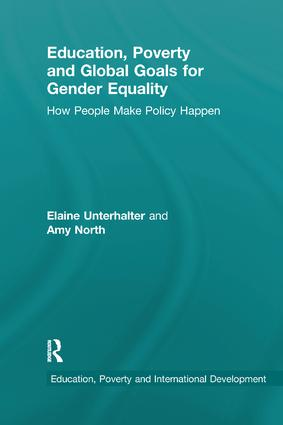 Education, Poverty and Global Goals for Gender Equality: How People Make Policy Happen book cover