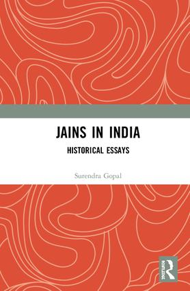 Jains in India: Historical Essays book cover