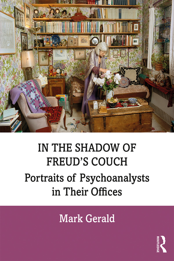 In the Shadow of Freud's Couch: Portraits of Psychoanalysts in Their Offices book cover