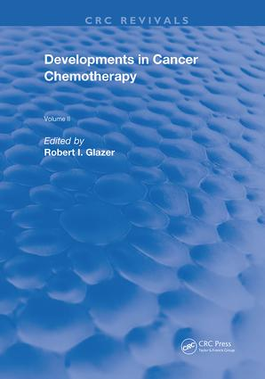 Developments In Cancer Chemotherapy