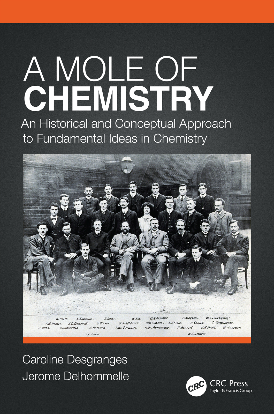 A Mole of Chemistry: An Historical and Conceptual Approach to Fundamental Ideas in Chemistry, 1st Edition (Paperback) book cover