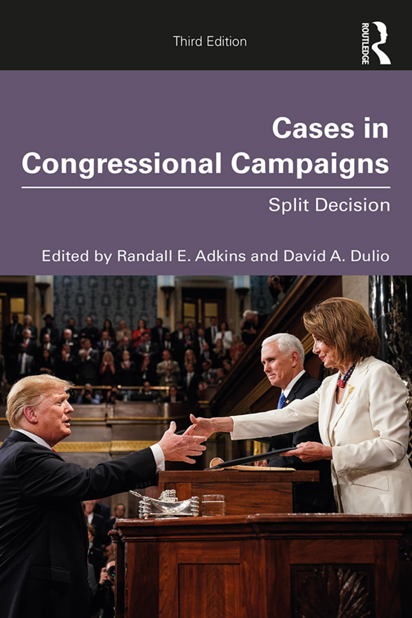 Cases in Congressional Campaigns: Split Decision book cover