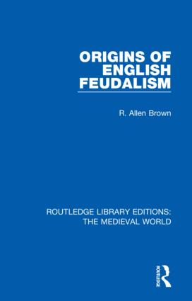 Origins of English Feudalism book cover