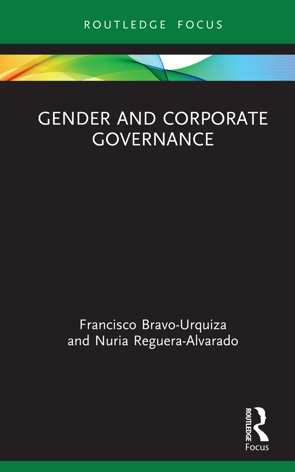 Gender and Corporate Governance: 1st Edition (Hardback) book cover