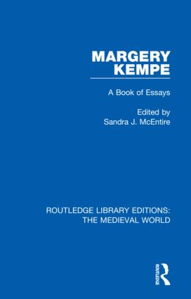 Margery Kempe: A Book of Essays book cover