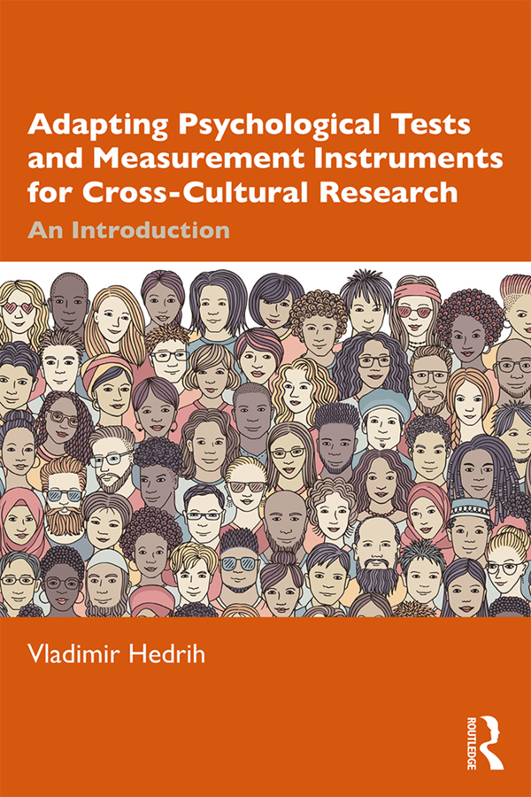Adapting Psychological Tests and Measurement Instruments for Cross-Cultural Research: An Introduction book cover