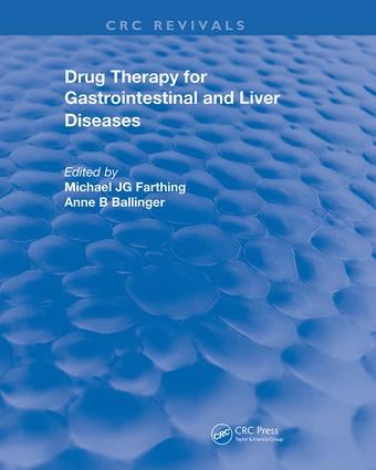 Drug Therapy for Gastrointestinal Disease: 1st Edition (Hardback) book cover