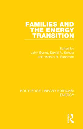 Families and the Energy Transition book cover