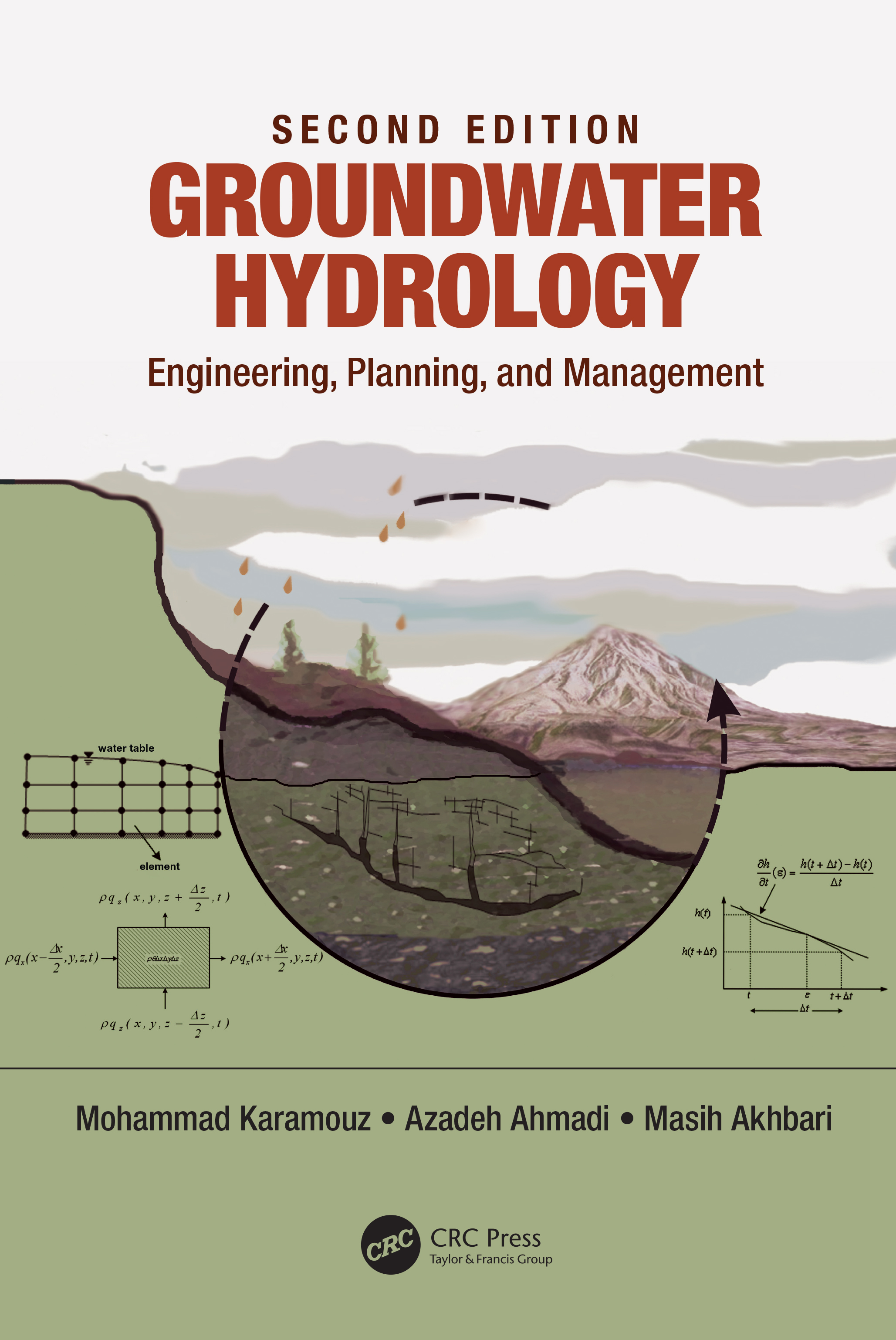 Groundwater Hydrology: Engineering, Planning, and Management, 2nd Edition (Hardback) book cover