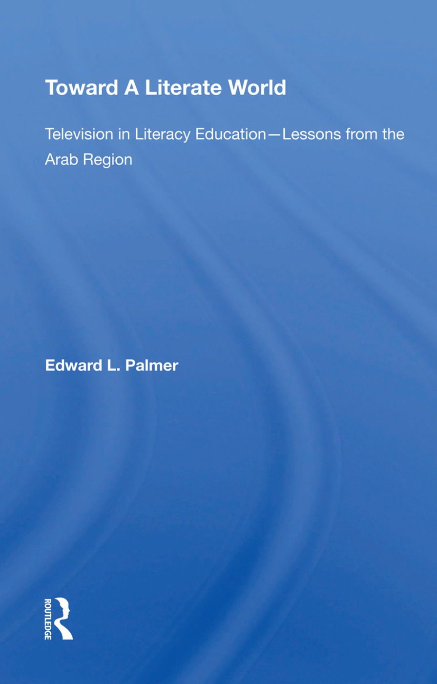 Toward A Literate/spec Sale/avail Hard Only book cover