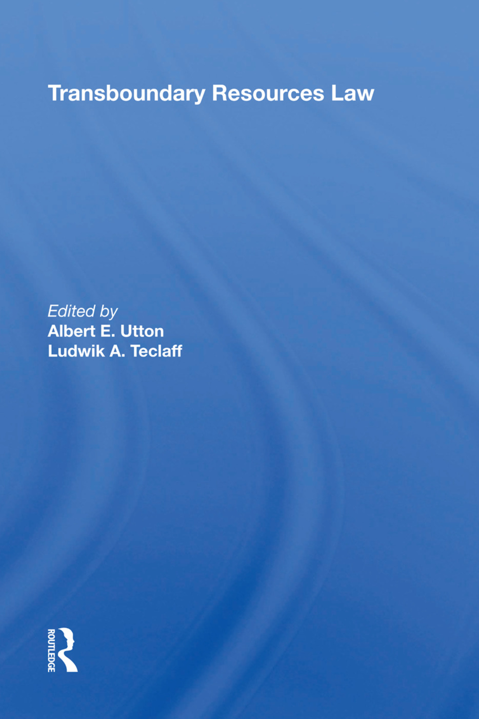 Transboundary Resources Law book cover