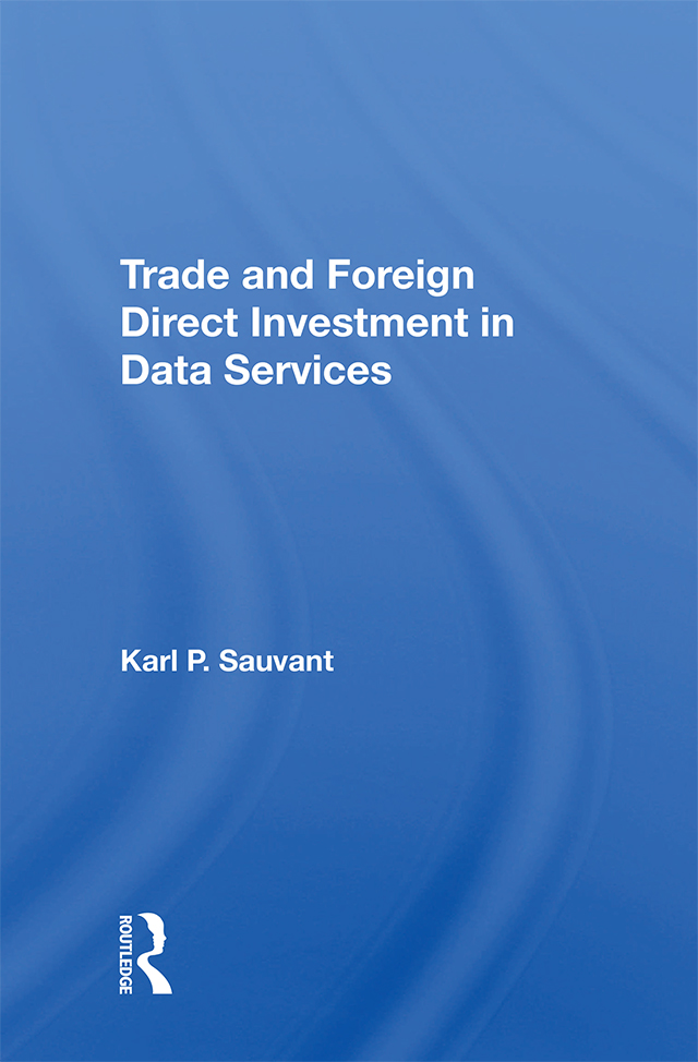 Trade And Foreign Direct Investment In Data Services book cover