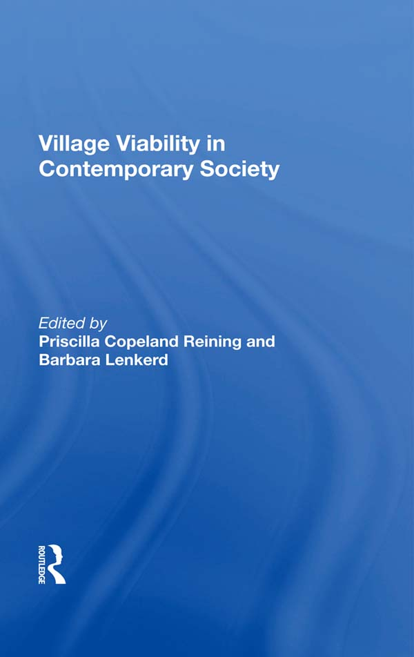 Village Viability In Contemporary Society book cover