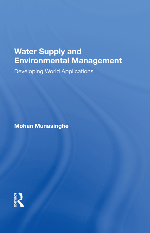 Water Supply And Environmental Management book cover