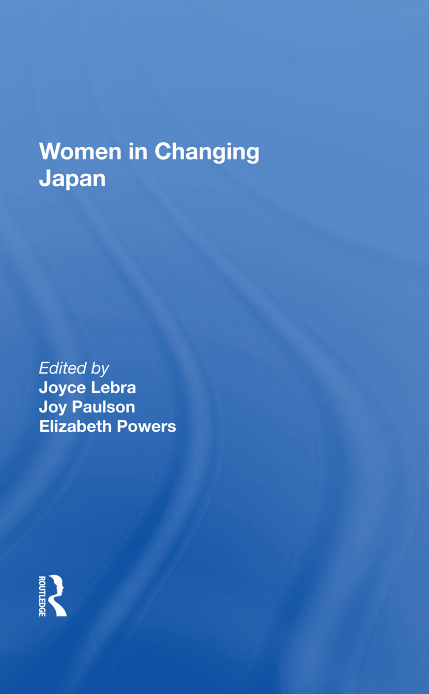 Women In Changing Japan: 1st Edition (Hardback) book cover