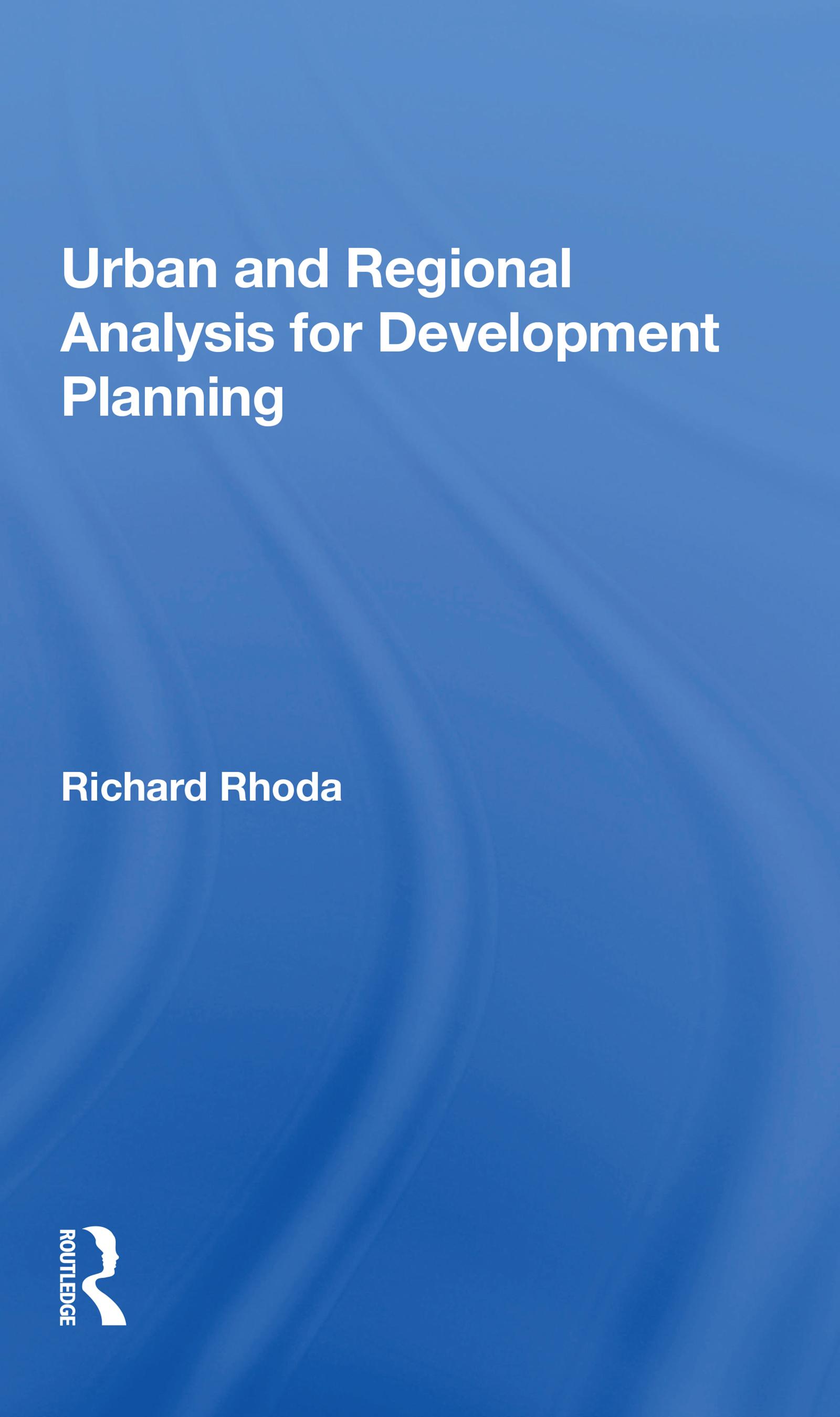 Urban And Regional Analysis For Development Planning