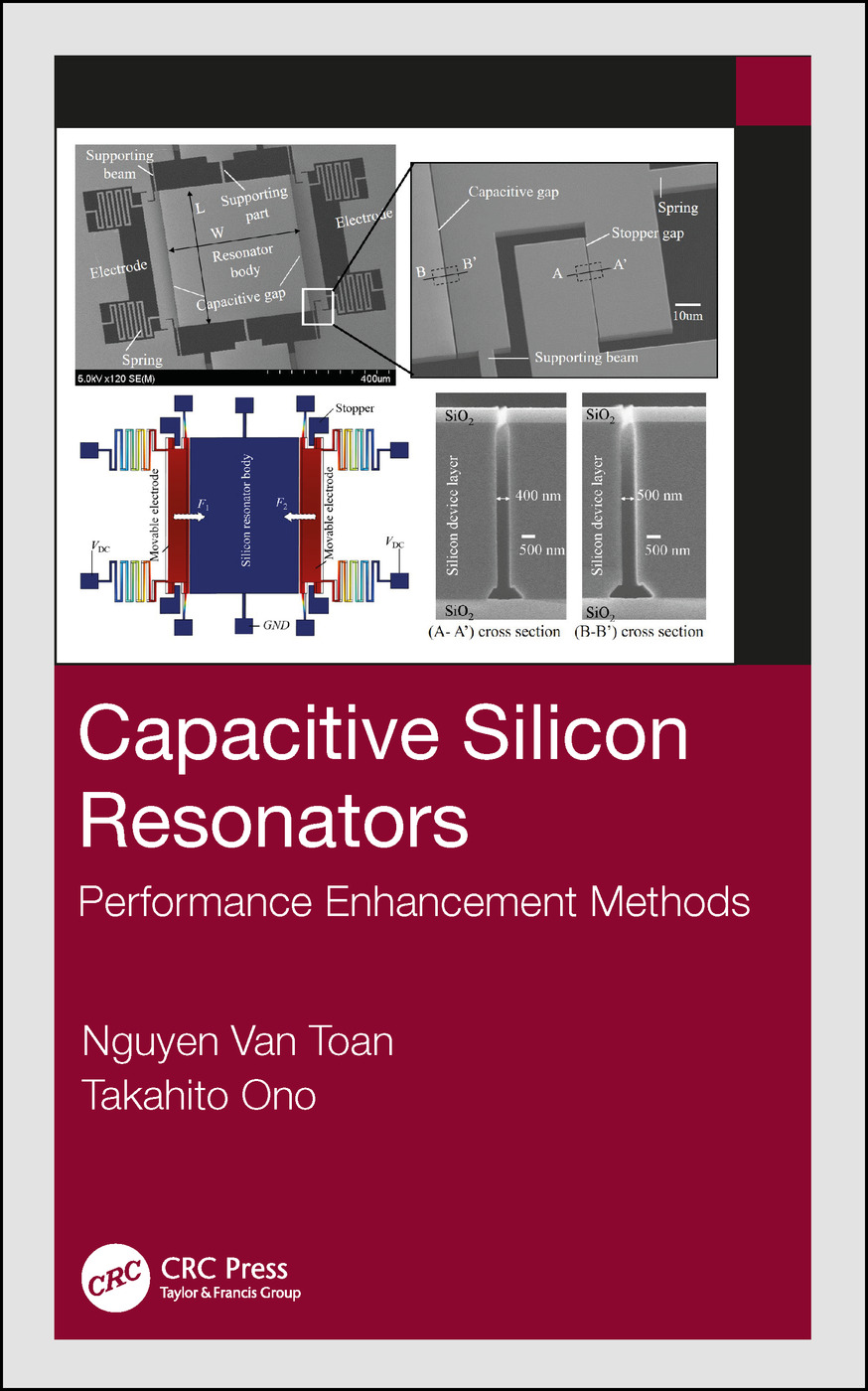 Capacitive Silicon Resonators: Performance Enhancement Methods, 1st Edition (Hardback) book cover