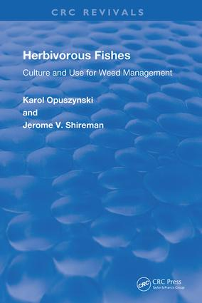 Herbivorous Fishes: Culture and Use for Weed Management, 1st Edition (e-Book) book cover