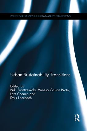 Urban Sustainability Transitions book cover