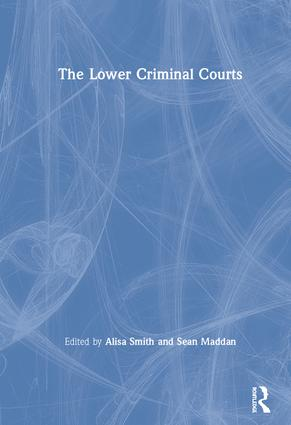 The Lower Criminal Courts book cover