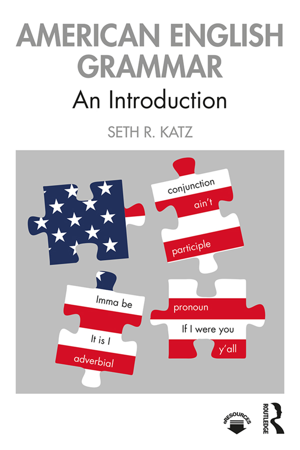 American English Grammar: An Introduction book cover
