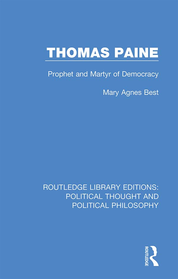 Thomas Paine: Prophet and Martyr of Democracy book cover