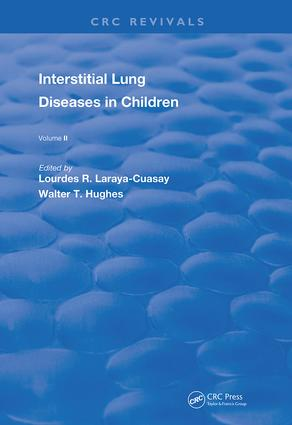 Interstitial Lung Diseases in Children: Volume 3, 1st Edition (e-Book) book cover