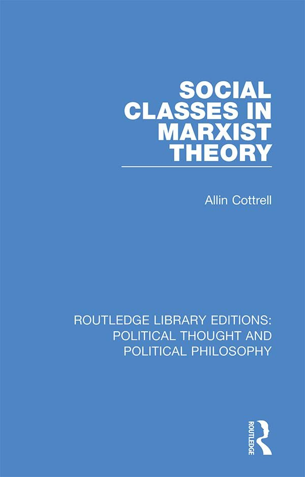 Social Classes in Marxist Theory book cover