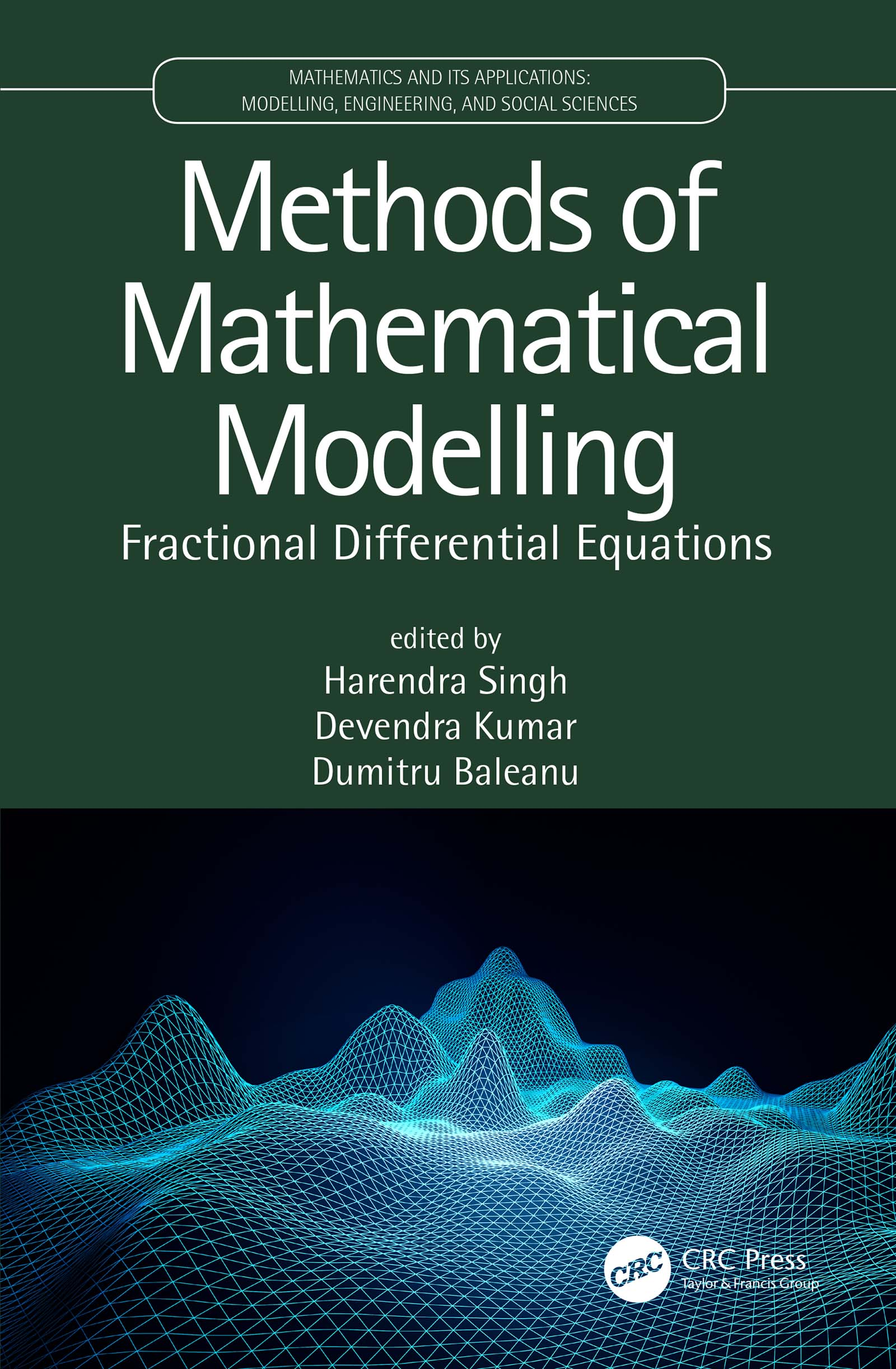 Methods of Mathematical Modelling: Fractional Differential Equations book cover