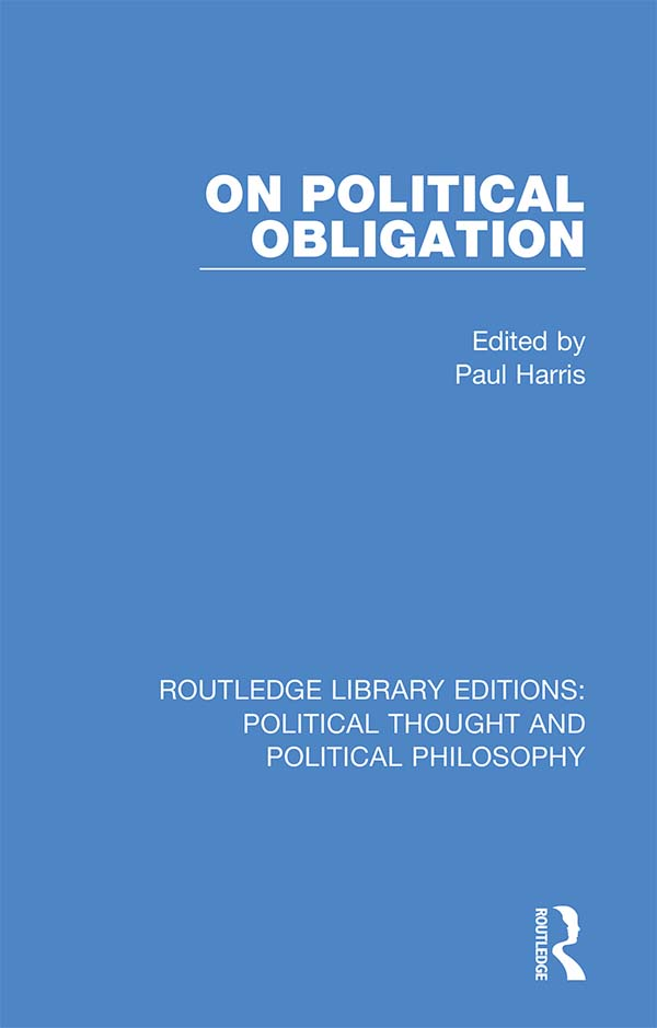 On Political Obligation book cover