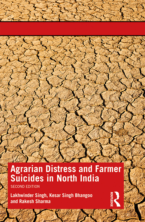Agrarian Distress and Farmer Suicides in North India book cover