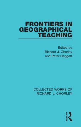 Frontiers in Geographical Teaching book cover
