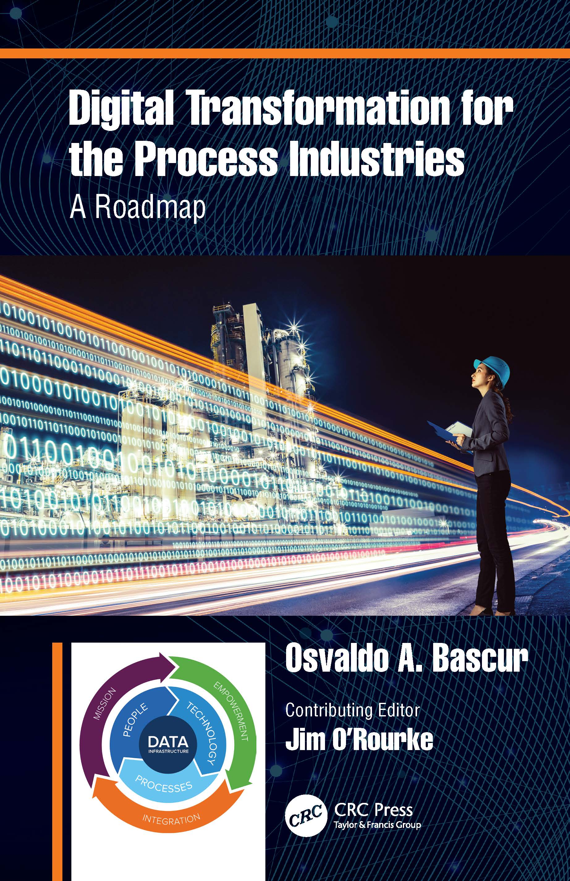 Digital Transformation for the Process Industries: A Roadmap, 1st Edition (Hardback) book cover