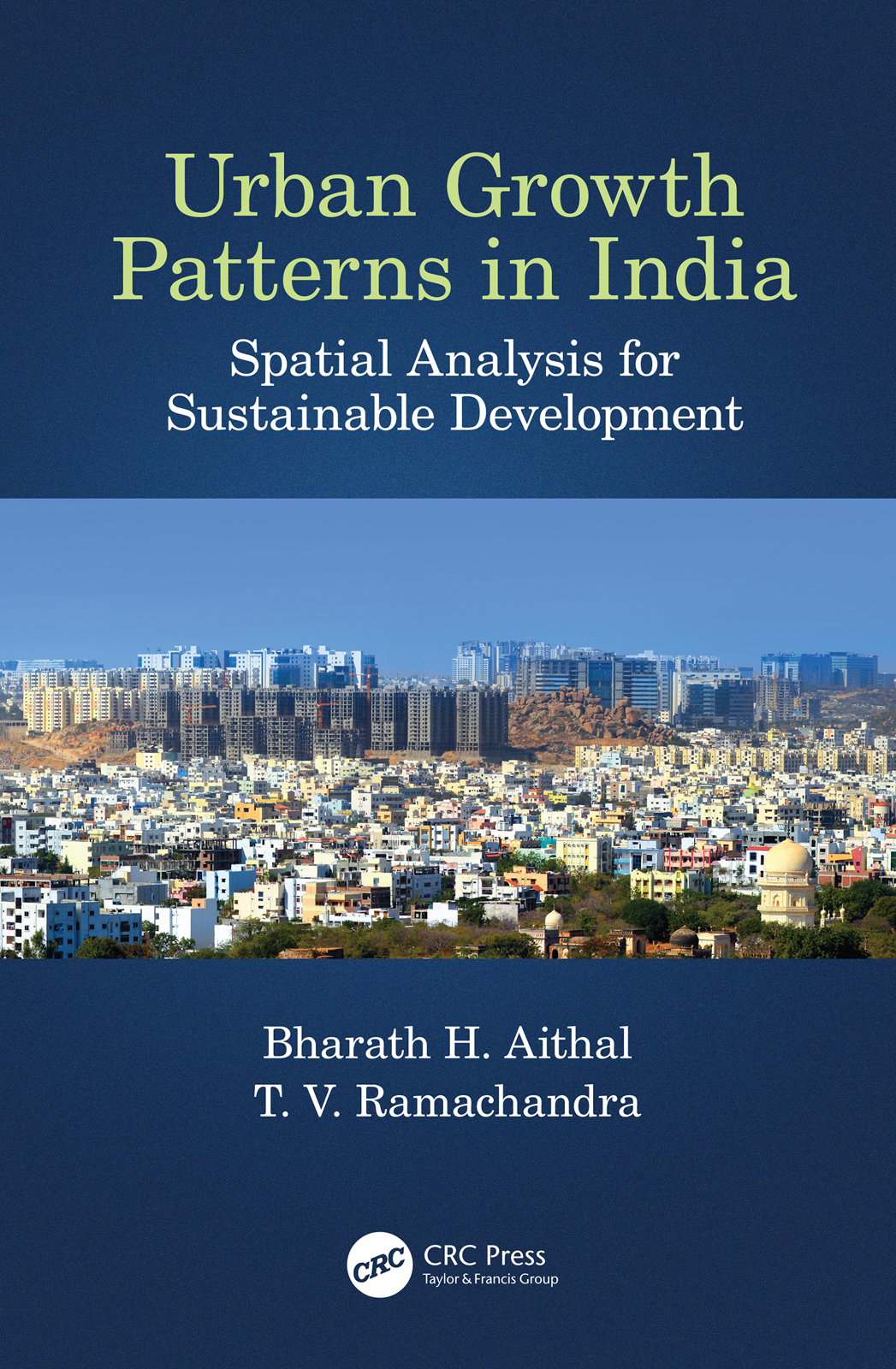 Urban Growth Patterns in India: Spatial Analysis for Sustainable Development book cover