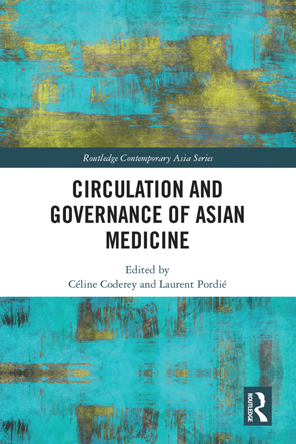 Circulation and Governance of Asian Medicine book cover