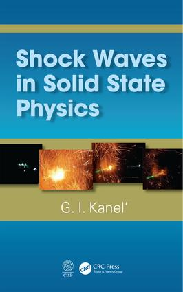 Shock Waves in Solid State Physics book cover